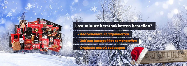 Last minute kerstpakket bestellen